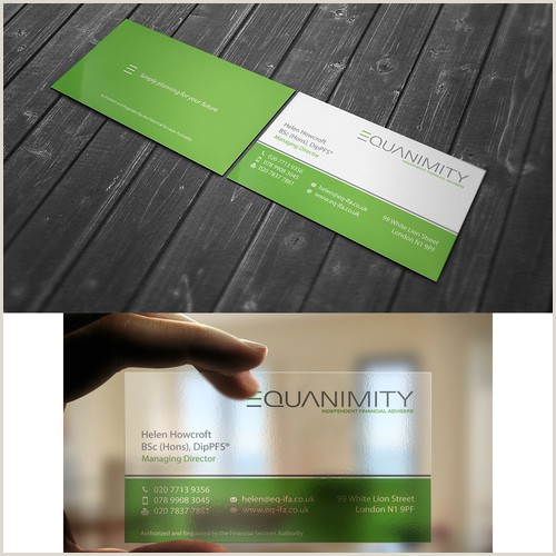 Unique Business Cards For Financial Advisors Modern Sleek And Professional Business Cards For Financial