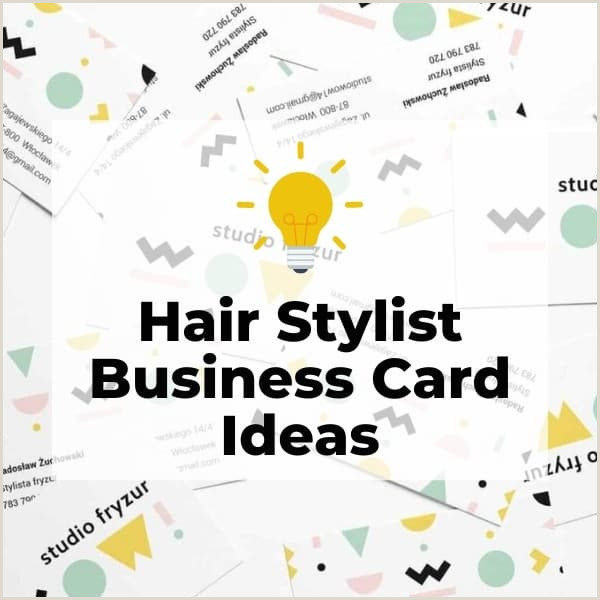 Unique Business Cards For Hair Stylist 27 Truly Unique Salon & Hairstylist Business Cards [ ]