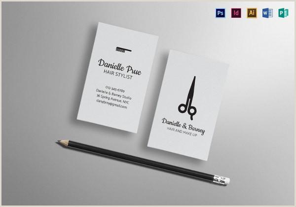 Unique Business Cards For Hair Stylist 42 Hair Stylist Business Card Templates Ai Psd Word