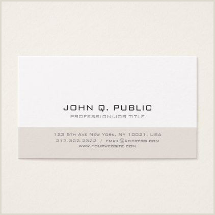 Unique Business Cards For Hair Stylist Modern Minimalistic Simple Professional Design Business Card