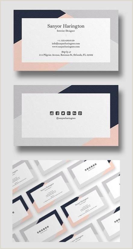 Unique Business Cards For Interior Designers 56 Ideas Unique Business Cars Design Stationery For 2019