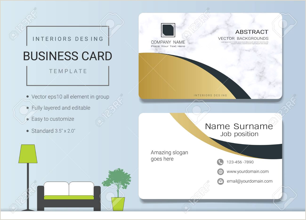 Unique Business Cards For Interior Designers Business Cards For Interior Designers