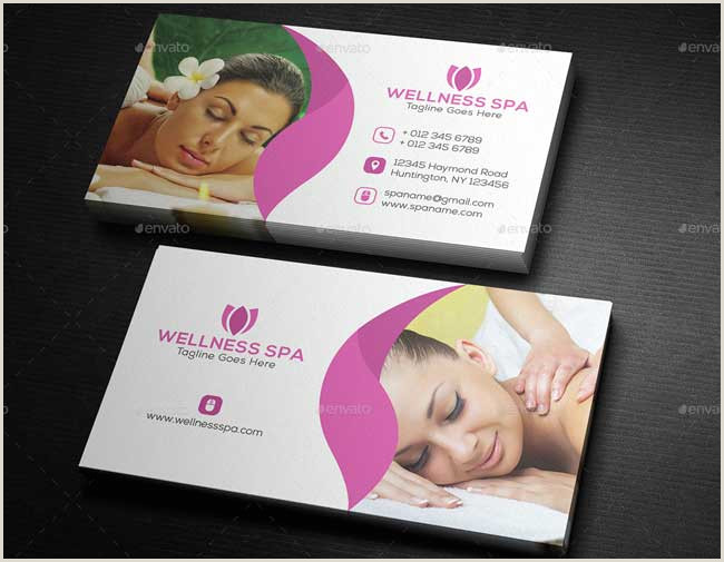Unique Business Cards For Salons 20 Best Beauty Salon And Spa Business Cards Designmaz