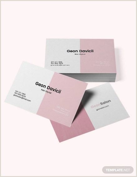 Unique Business Cards For Salons 42 Hair Stylist Business Card Templates Ai Psd Word