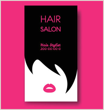 Unique Business Cards For Salons Hair Salon Business Card Photos Royalty Free Images