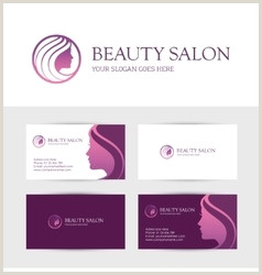 Unique Business Cards For Salons Hair Salon Business Card Vector Over 5 900