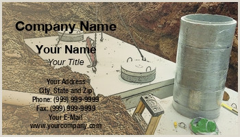 Unique Business Cards For Sewers Septic Tanks Business Cards