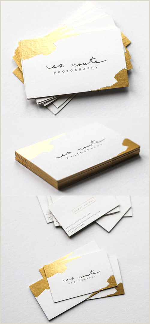 Unique Business Cards Gold Foil A Collection Elegant Business Cards With Gold Designs