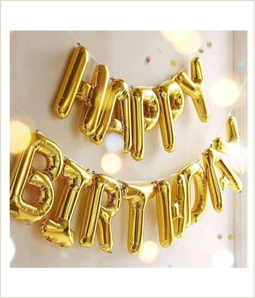 Unique Business Cards Gold Foil Enjoy Happy Birthday Foil Balloons For Birthday Decoration Gold 13 Letters 16 Inch Alphabet Banner