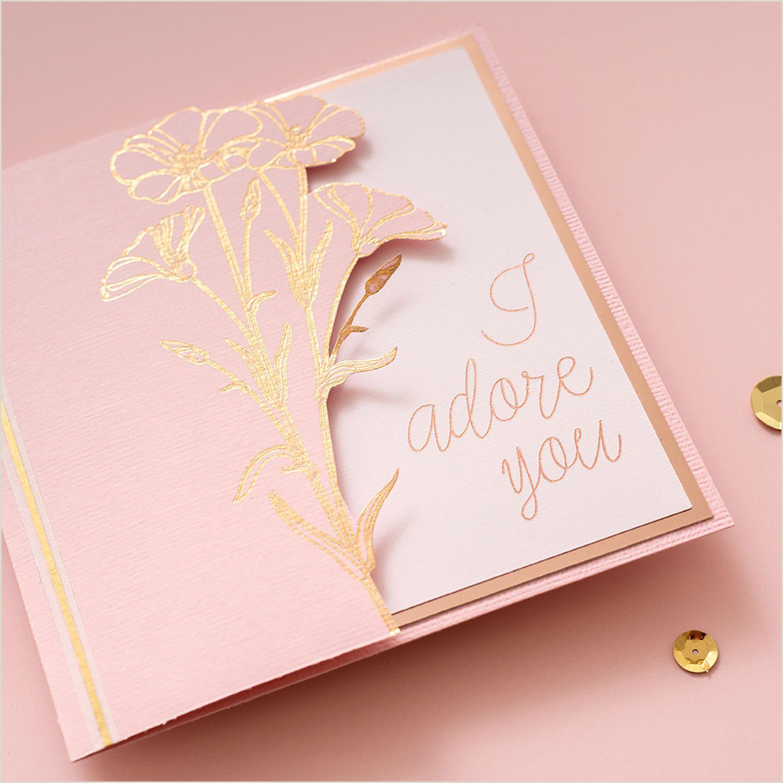 Unique Business Cards Gold Foil Foil Quill Wedding Invitations