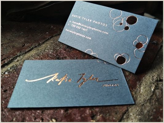 Unique Business Cards Gold Foil Gold Foil Stamped Business Cards – Quality Supplier From China