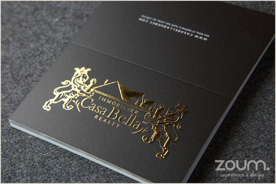 Unique Business Cards Gold Foil Gold Foil Stamping