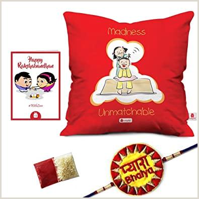 Unique Business Cards Massage Indi Ts Raksha Bandhan Rakhi Gifts Hamper Pyara Bhaiya