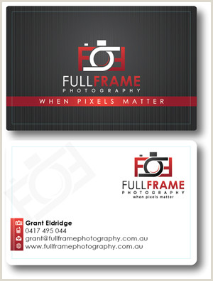 Unique Business Cards Photography Grapher Business Cards