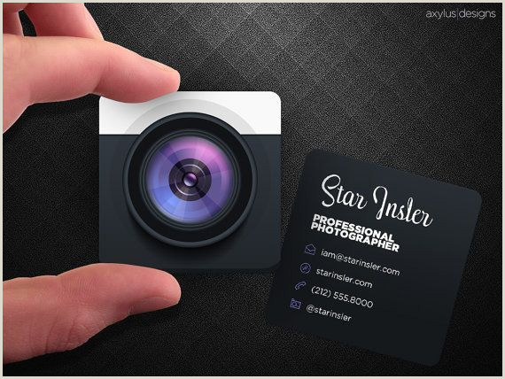 Unique Business Cards Photography Pameperipato Cool Graphy Business Cards