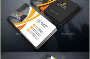 Unique Business Cards Pinterest Corporate Business Card Template Psd …