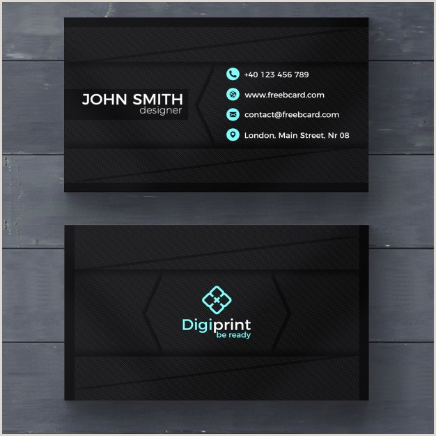 Unique Business Cards Program Free Download 20 Professional Business Card Design Templates For Free
