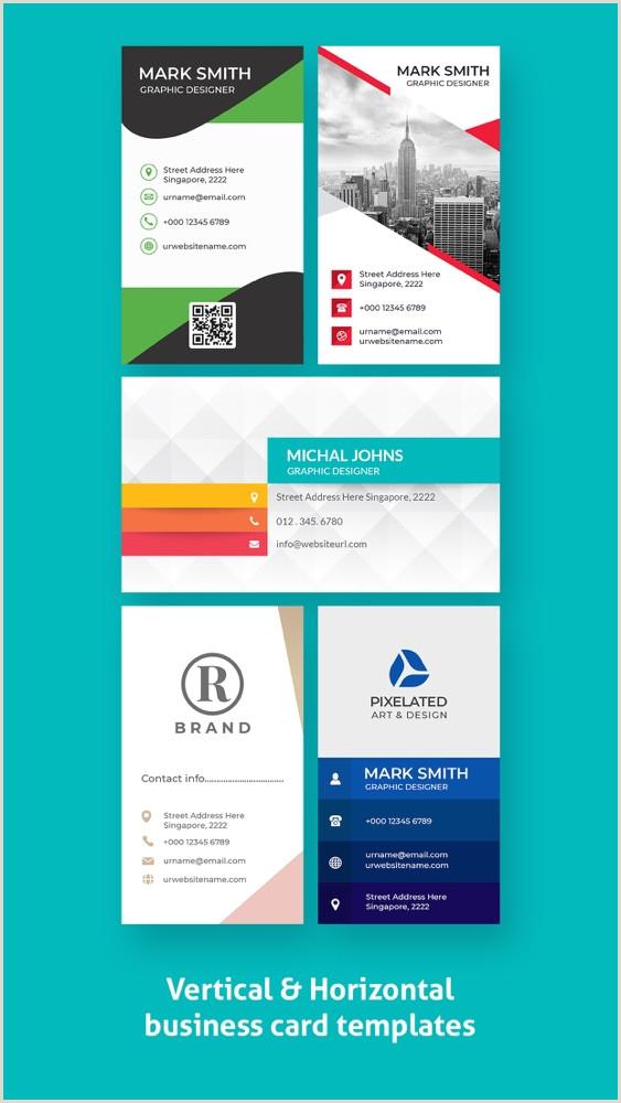 Unique Business Cards Program Free Download Business Card Maker 2020 App For IPhone Free Download