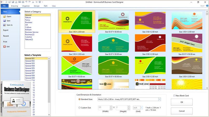 Unique Business Cards Program Free Download Business Card Software Business Card Maker Make Free