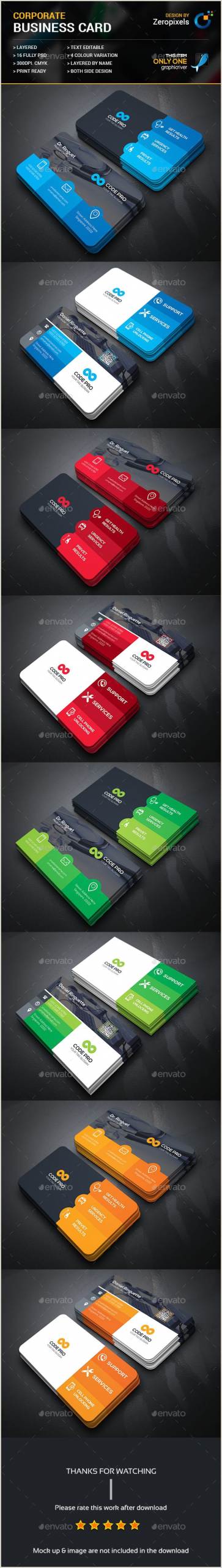 Unique Business Cards Program Free Download Doctor & Puter Service Business Card Template Psd