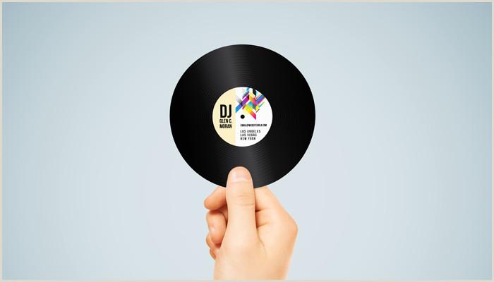 Unique Business Cards Record Record Label Business Cards Pensandpieces