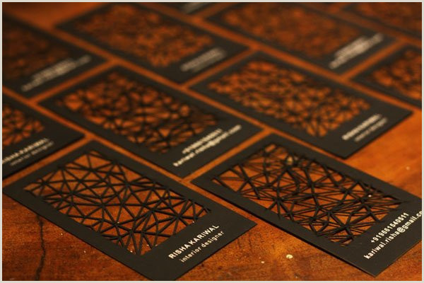 Unique Business Cards Shapes 30 Business Card Design Ideas That Will Get Everyone Talking