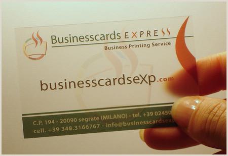 Unique Business Cards Transparent 30 Unique Examples Of Transparent Business Cards