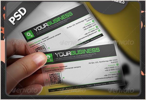 Unique Business Cards Transparent Transparent Business Card Design 23 Free & Premium Download