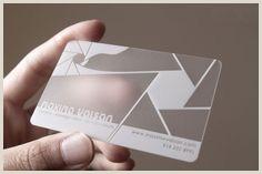 Unique Business Cards Transparent Transparent Business Cards 10 Ideas