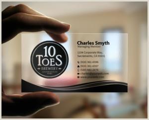 Unique Business Cards Transparent Transparent Business Cards