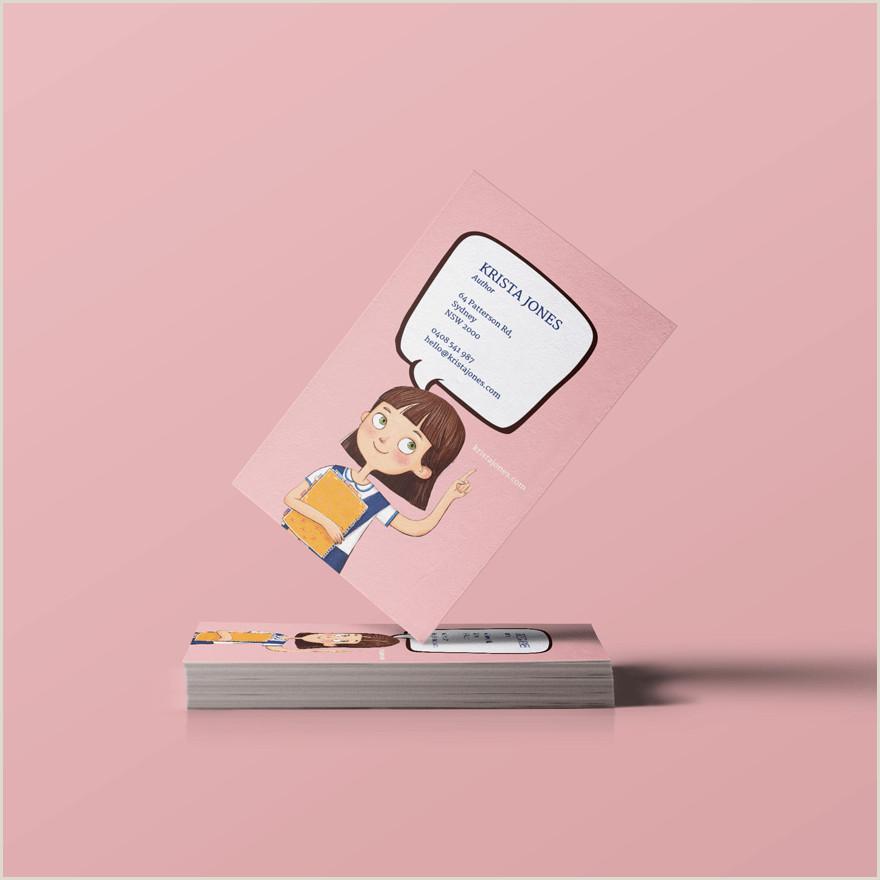 Unique Business Cards Writers 7 Unique Business Card Design Ideas For Authors Plus 3 Free