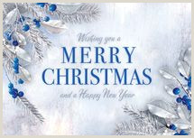 Unique Business Christmas Cards Silver 50 Best Personalized Merry Christmas Cards Images In 2020