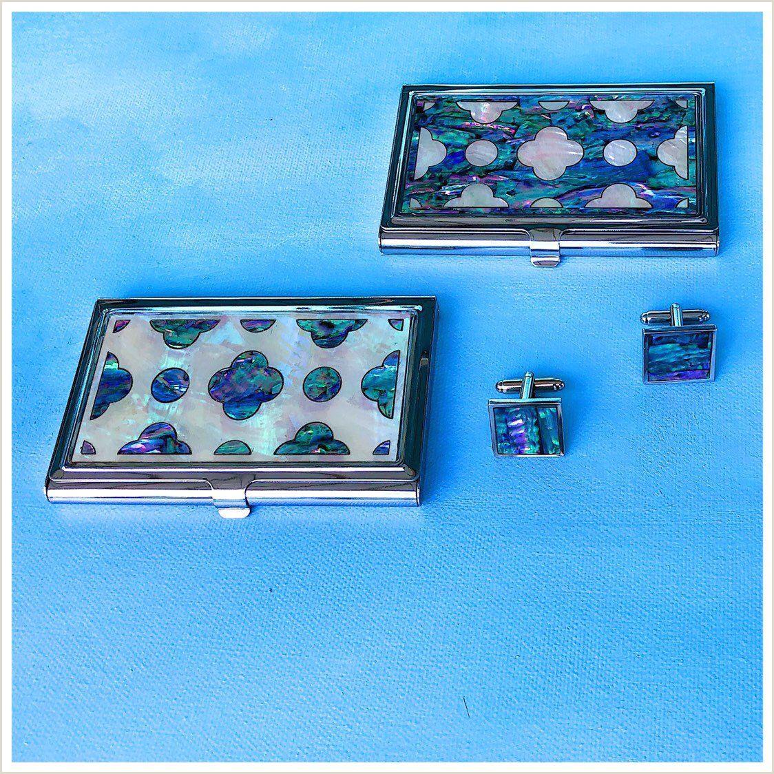 Unique Business Crredit Cards Abalone Design Business Card Case Credit Card Holder Id Card