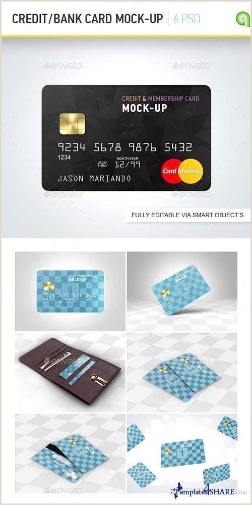 Unique Business Crredit Cards Credit Card Shop Template Beautiful Graphicriver Credit