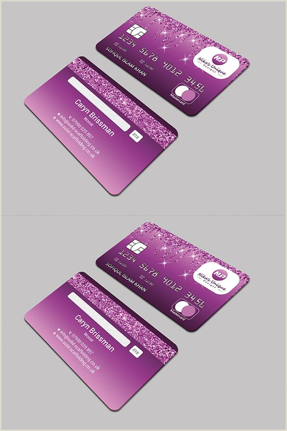 Unique Business Crredit Cards Pin On Credit Card Design