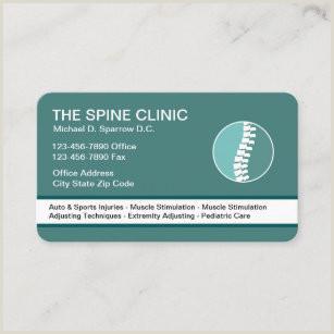 Unique Chiropractic Business Cards Chiropractic Business Cards Business Card Printing