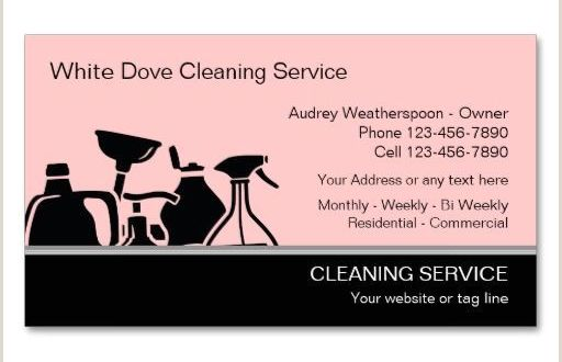 Unique Cleaning Business Cards Modern Cleaning Business Cards Zazzle