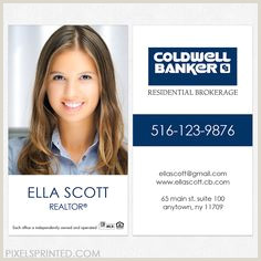 Unique Coldwell Banker Business Cards 7 Best Business Cards Images