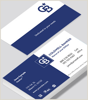 Unique Coldwell Banker Business Cards Coldwell Banker Business Cards Free Designs