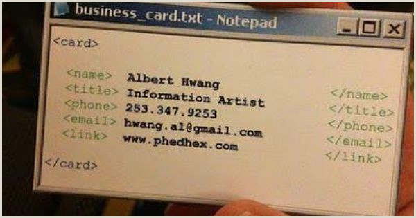 Unique Computer Programmer Business Cards Name Card Of A Programmer