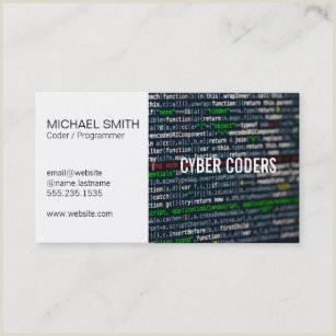 Unique Computer Programmer Business Cards Programmer Business Cards Business Card Printing