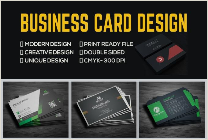 Unique Custom Business Cards Artseo24 I Will Design High Quality Creative Professional