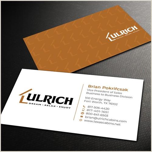 Unique Dental Business Cards Ulrich Cabins B2b Business Cards