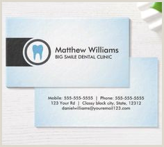 Unique Dentist Business Cards 40 Best Dental Business Cards Images