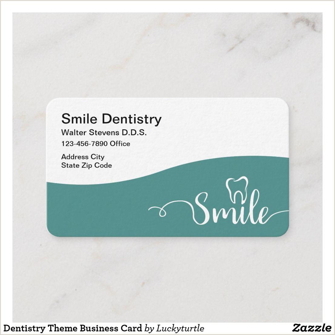 Unique Dentist Business Cards Dentistry Theme Business Card Zazzle
