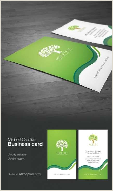 Unique Designer Business Cards Super Business Cars Design Green Brand Identity 23 Ideas