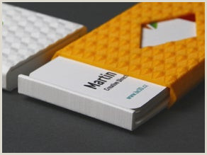 Unique Diamond Business Cards Business Card Cases By Ysoft Be3d Thingiverse