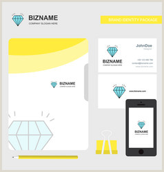 Unique Diamond Business Cards Diamond Visiting Card Vector 58