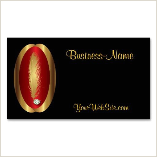 Unique Diamond Business Cards Feather And Diamond Logo Business Card