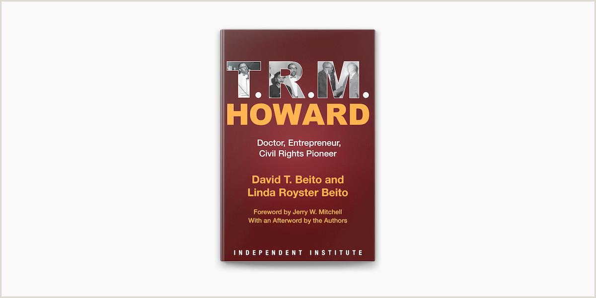 Unique Entrepreneur Business Cards t R M Howard